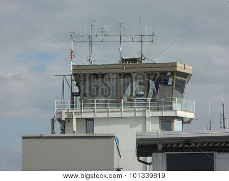 Airport Control Tower In Ljubljana, Slovenia