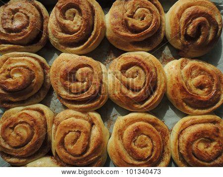 Danish Pastry - Cinnamon Rolls