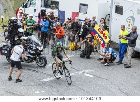 The Cyclist Pierre Rolland - Tour De France 2015