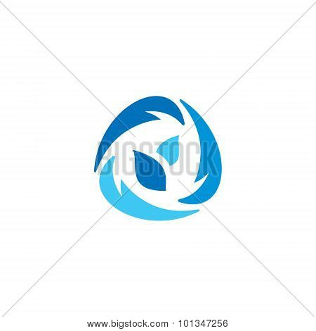 Frozen Food Abstract Sign. Vector Illustration.