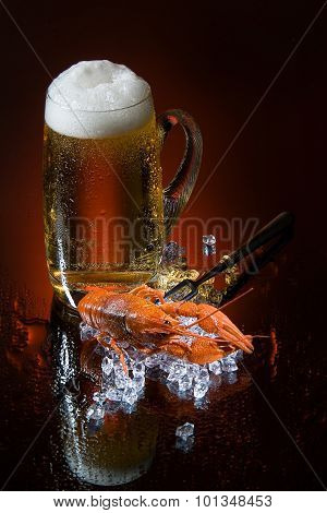 Beer And Crawfish