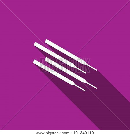 Welding Electrodes Icon. Vector Illustration.