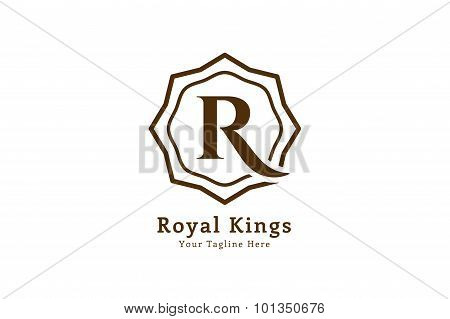 Royal logo vector template