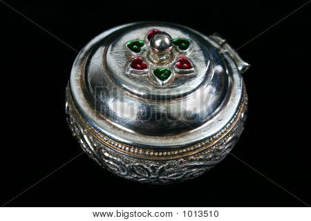 Silver Container