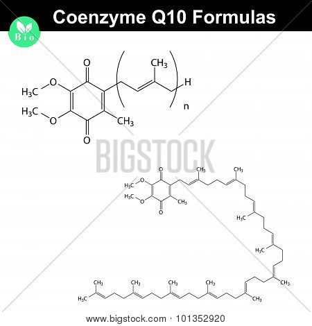 Coenzyme Q10 Chemical Structures