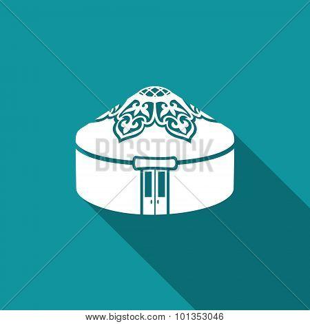 Yurt Icon. Vector Illustration.