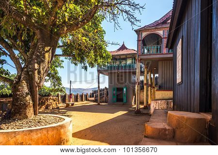 Courtyard Of The Ambohimanga Royal Hill.