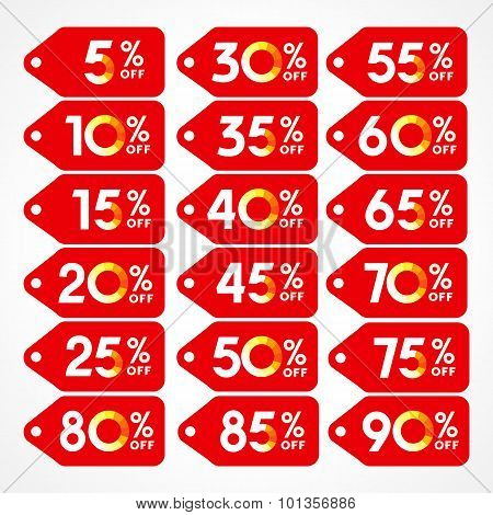 Discount red