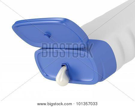 Pouring Shampoo