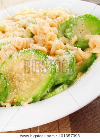 Pasta Collection - Fusilli With Zuchinni And Parmesan