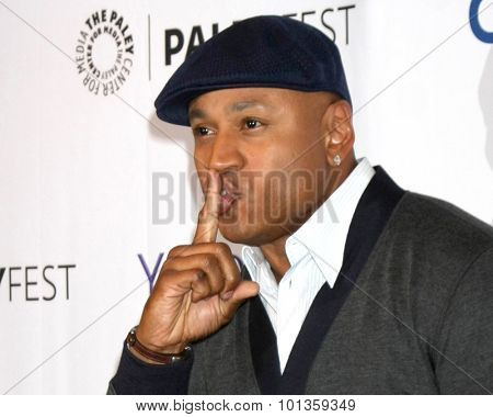LOS ANGELES - SEP 11:  LL Cool J, aka James Todd Smith at the PaleyFest 2015 Fall TV Preview - NCIS: Los Angeles at the Paley Center For Media on September 11, 2015 in Beverly Hills, CA