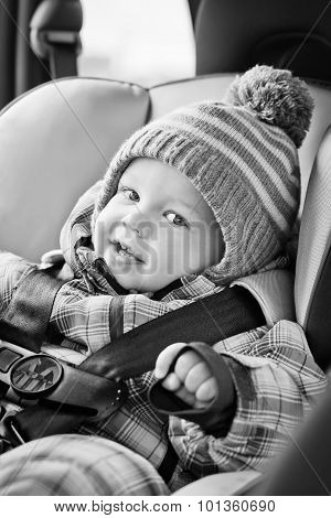 Portrait Happy Baby Boy