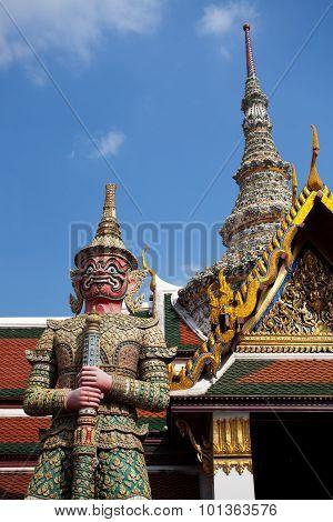 Guardian Statues at Bangkok