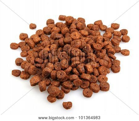 Pet Food Isolated On White