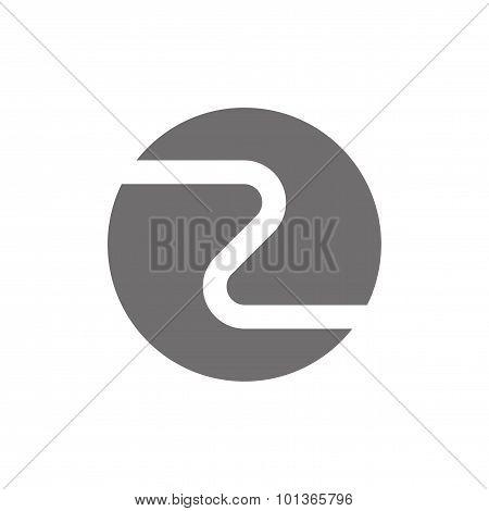 Letter Z Logo Concept Icon. Vector