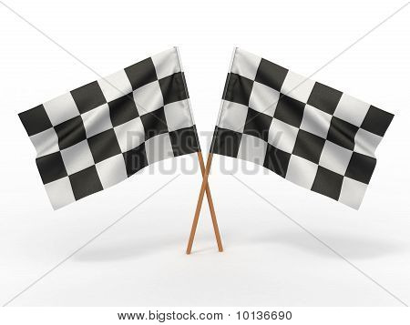 Finishing Checkered Flag