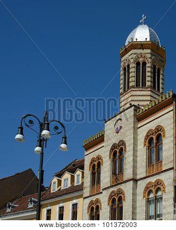 Old Church In Brasov
