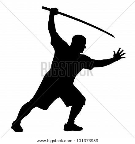 Man With Bokken