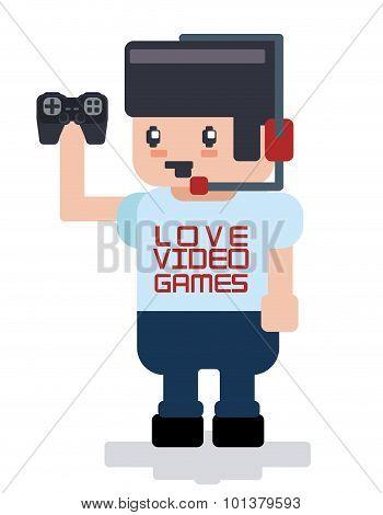 Videogames design.