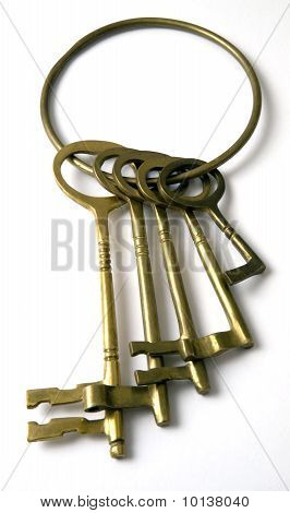 Set of Brass keys