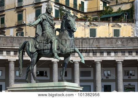 Statue Of Ferdinand Iv Of Naples