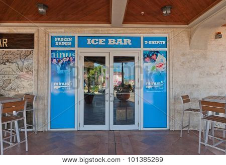 Minus5 Ice Bar In George Town Of Grand Cayman
