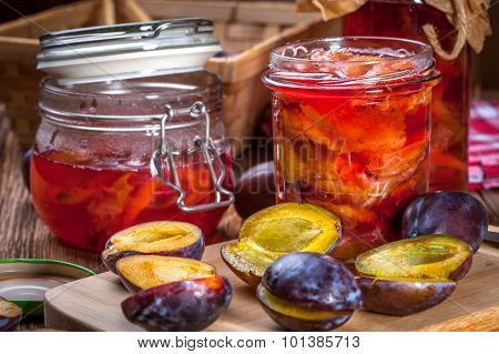 Plum Compote.