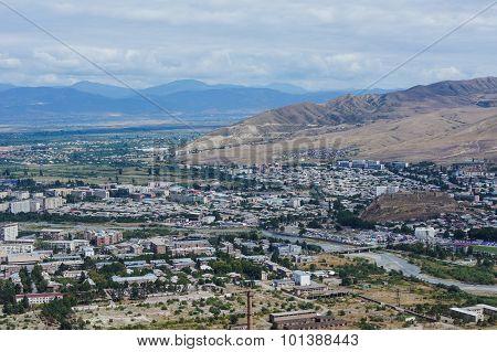 Town Of Gori In Georgia