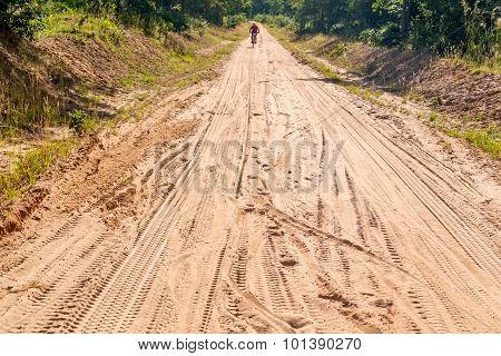 Road In Tanzania