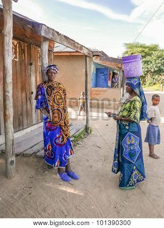 Tribal People In Tanzania