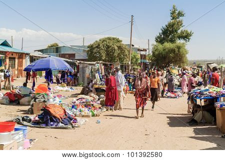 Local Market  In Kenya