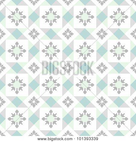 Seamless Ornamental Tile Background