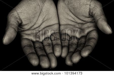 Nice Power Image of  Afro American Hands