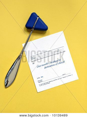 Reflex Hammer with Vacation Script