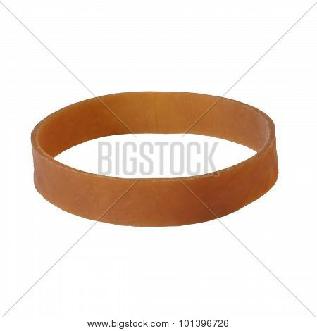 Brown Rubber Band