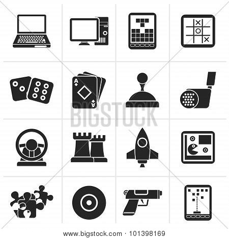 Black Computer Games tools and Icons