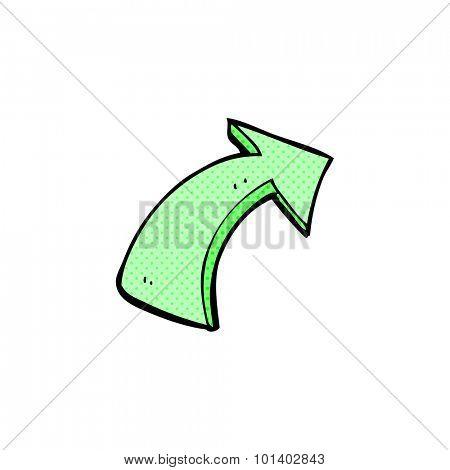 comic book style cartoon pointing arrows