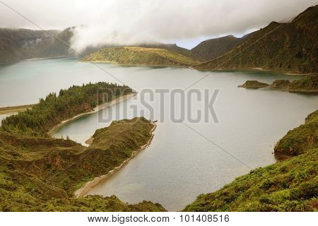 Lake of Fire (Lagoa do Fogo) in Sao Miguel Island - Azores