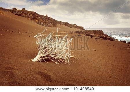 Landscape from Capelinhos, Faial Island, Azores, Portugal