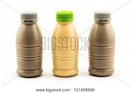 Soybean Milk And Soybean Milk With Black Sesame