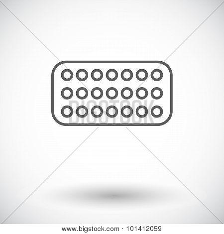 Contraceptive pills.