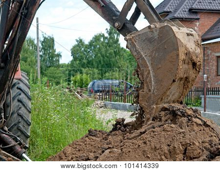 Working With Excavator