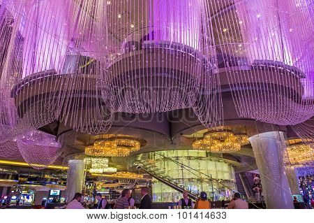 Las Vegas , Chandelier Bar