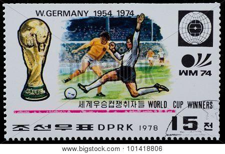 North Korea Stamp
