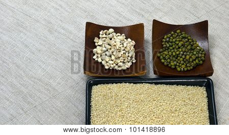rice bean and mullet