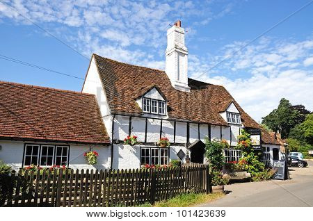 Bull and Butcher pub, Turville.