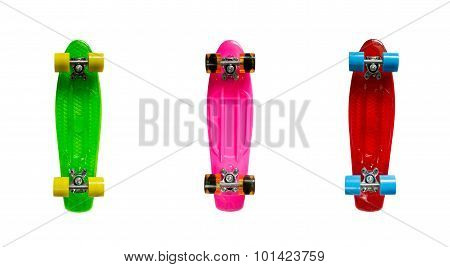 Mini cruiser fish skateboards