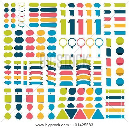 Mega Collections Of Infographics Design Elements.