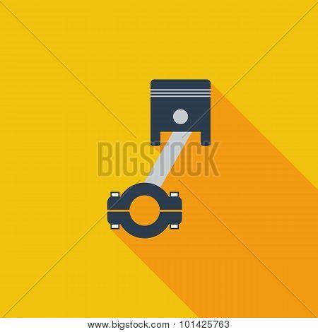 Piston single icon.