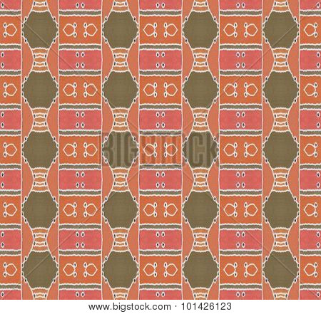 Seamless pattern red brown